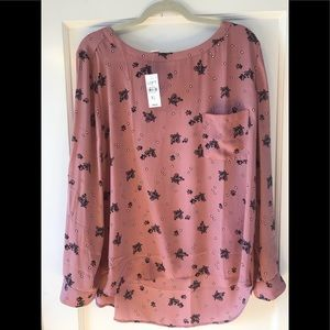 LOFT outlet long sleeved blouse